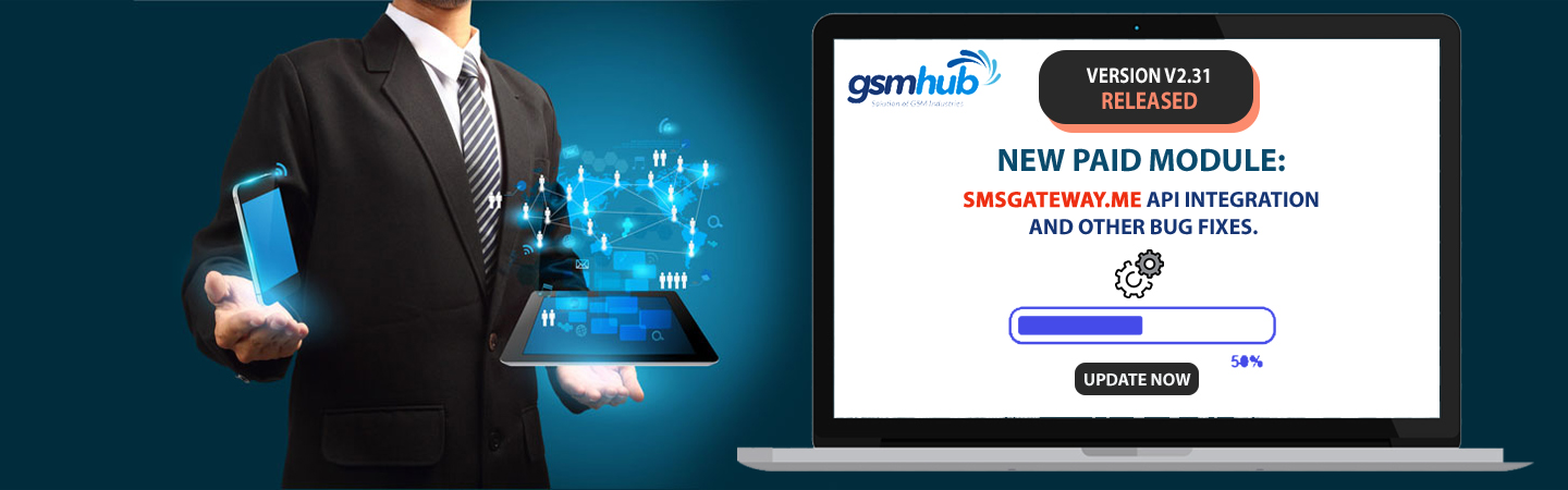 GsmHub Version 2.31 released
